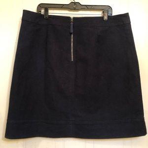 Boden Navy Blue Skirt 18